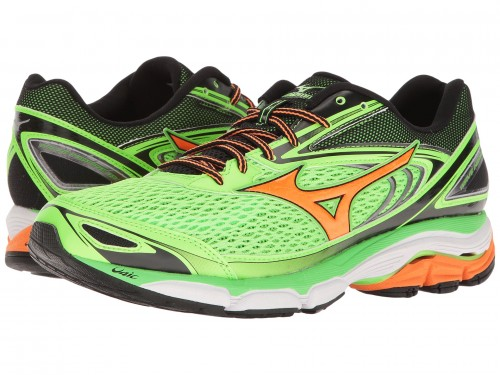 Mizuno Wave Inspire 13 (Green Gecko/Clownfish/Black)