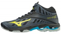 Mizuno Wave Lightning Z4 Mid (Ombre Blue/Safety Yellow/Black)