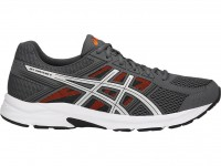 ASICS GEL-Contend 4 (Carbon/Silver/Shocking Orange)