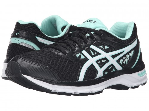 Женские ASICS GEL-Excite 4 (Black/White/Mint)