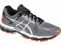 ASICS GEL-Kayano® 22 (Storm/Silver/Flash Orange )