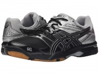 ASICS GEL-Rocket 7 (Black/Silver)