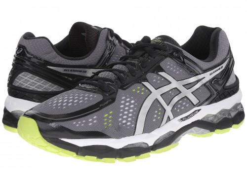 ASICS GEL Kayano 22 (Charcoal/Silver/Lime)