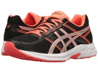 Женские ASICS GEL-Contend 4 (Black/Silver/Flash Coral)