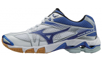 Женские Mizuno Wave Bolt 6 (White/Royal)