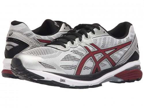ASICS GT-1000 5 (Glacier Grey/Pomegranate/Black)
