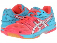 Женские Asics GEL-Rocket 7 (Diva Pink/White)