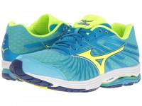 Женские Mizuno Wave Sayonara 4 (Norse Blue/Safety Yellow/Mazarine Blue)