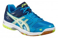 ASICS GEL-Rocket 7 (Blue Jewel/Glacier Grey/Safety Yellow)