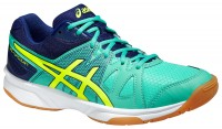 Женские Asics Gel-UpCourt (Aqua Mint/Flash Yellow/Indigo Blue)