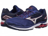 Mizuno Wave Rider 20 (Blue Depths/Silver/Chinese Red)