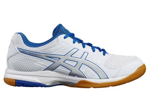 ASICS GEL-Rocket 8 (White/Silver/Classic Blue)