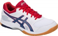 ASICS GEL-Rocket 8 (White/Deep Ocean)