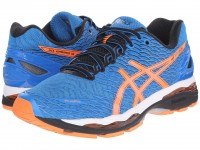ASICS GEL-Nimbus 18 (Electric Blue/Hot Orange/Black)