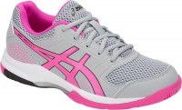 Женские ASICS GEL-Rocket 8 (Mid Grey/Pink Glo)