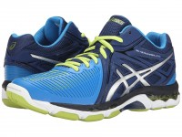 ASICS GEL-Netburner Ballistic MT (Navy/Silver/Electric Blue)