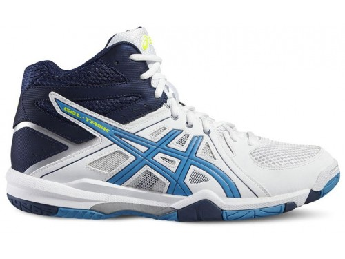 ASICS Gel-Task MT (White/Blue Jewel/Safety Yellow)