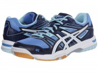 Женские Asics GEL-Rocket 7 (Powder Blue/White/Indigo Blue)