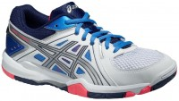 Женские ASICS Gel-Task (White/Powder Blue/Flash Coral)
