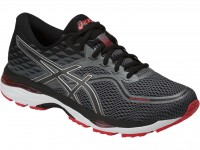 ASICS GEL-Cumulus 19 (Black/Carbon/Fiery Red)