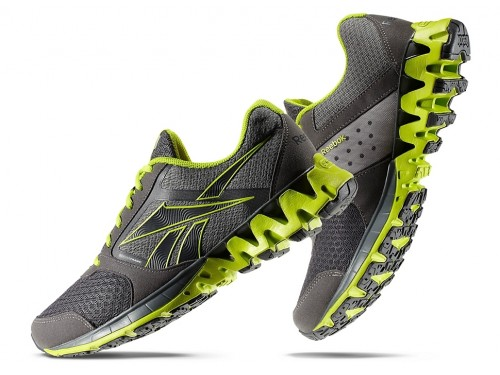 Reebok ZigKick Alpha (Grey/ Green)