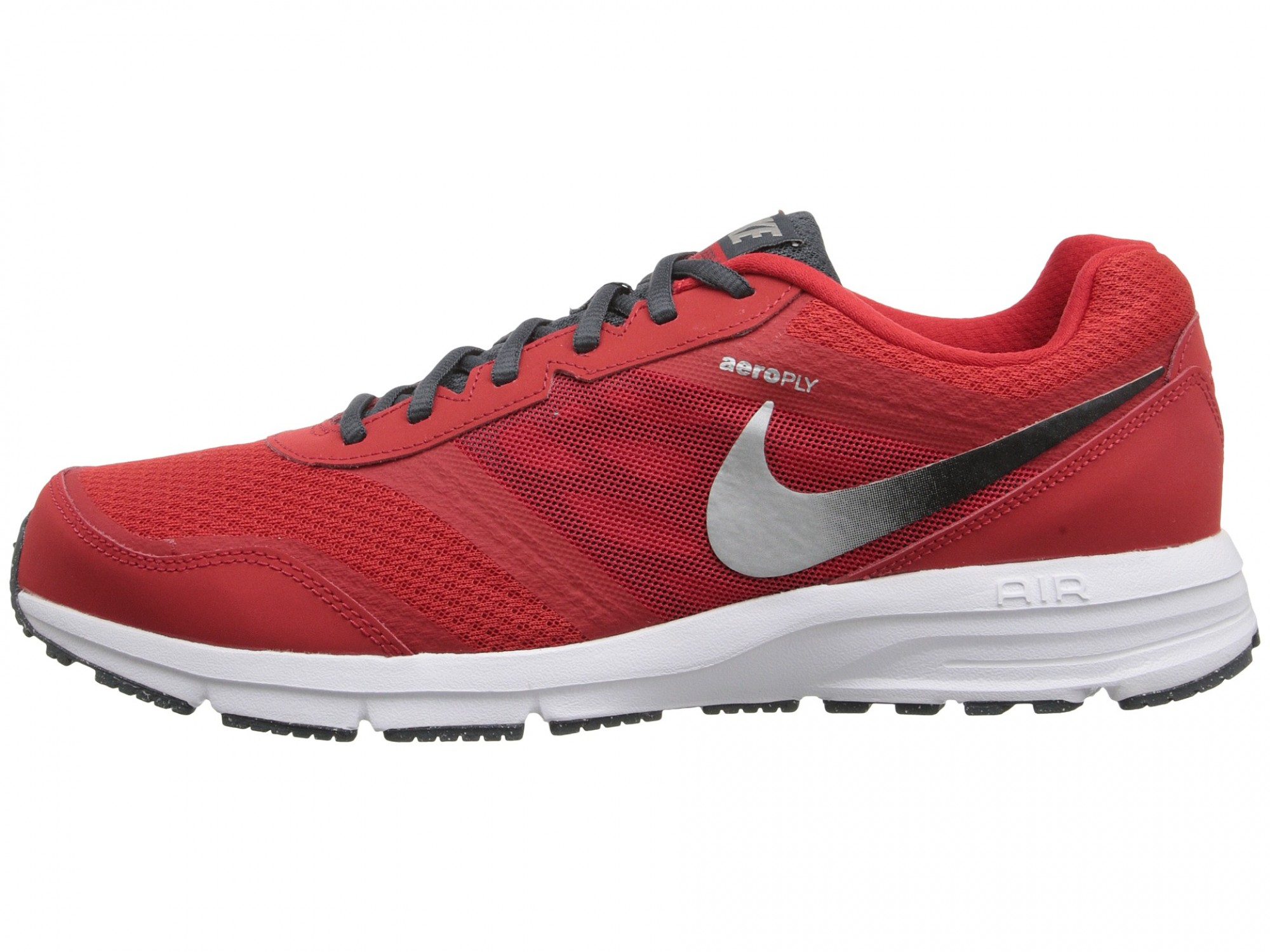 official photos 9efcd dd7ea Nike Air Relentless 4 (University Red Black Dark Magnet Grey Metallic Silver
