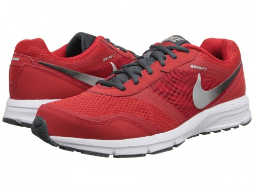 Nike Air Relentless 4 (University Red/Black/Dark Magnet Grey/Metallic Silver)