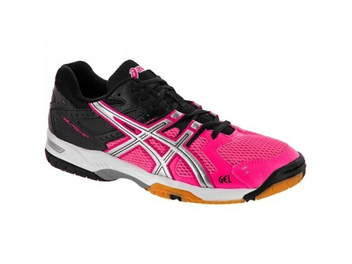 Женские ASICS GEL-Rocket 6 (Pink/ silver/ black)