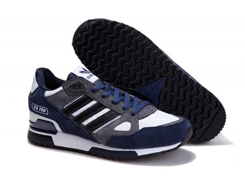 Adidas ZX750 (Dark Blue/ White)