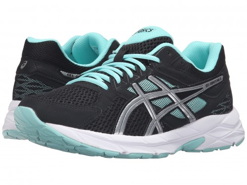 Женские ASICS GEL-Contend™ 3 (Black/Lightning/Aruba Blue)