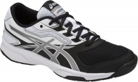 Женские Asics GEL-Upcourt 2 (Black/Silver/White)
