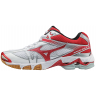 Женские Mizuno Wave Bolt 6 (White/Red)