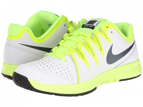 Nike Vapor Court (White/Volt/Black/Classic Charcoal)
