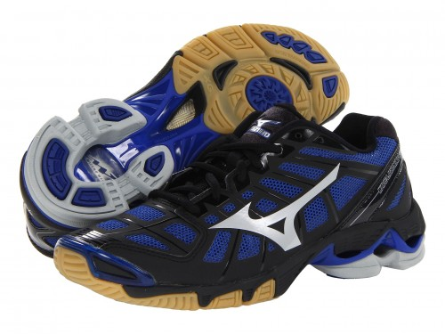 Женские Mizuno Wave Lightning RX2 (Black/ Royal)