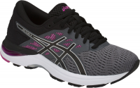 Женские ASICS GEL-Flux 5 (Carbon/Black/Fuchsia Red)