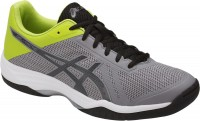 ASICS GEL-Tactic (Aluminum/Dark Grey/Energy Green)