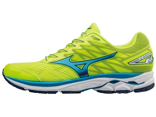 Mizuno Wave Rider 20 (Yellow/Blue/White)