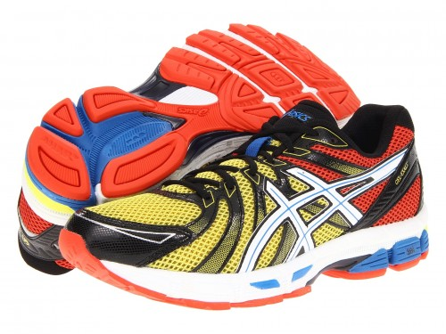 ASICS GEL-Exalt (Red/ Black/ Yellow)