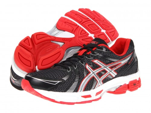ASICS GEL-Exalt (Black/ Silver/ Red)