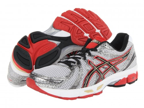 ASICS GEL-Exalt (White/ Black/ Red)