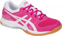 Женские ASICS GEL-Rocket 8 (Pink Rave/White)