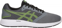 ASICS PATRIOT 10 (Steel Grey/Hazard Green)
