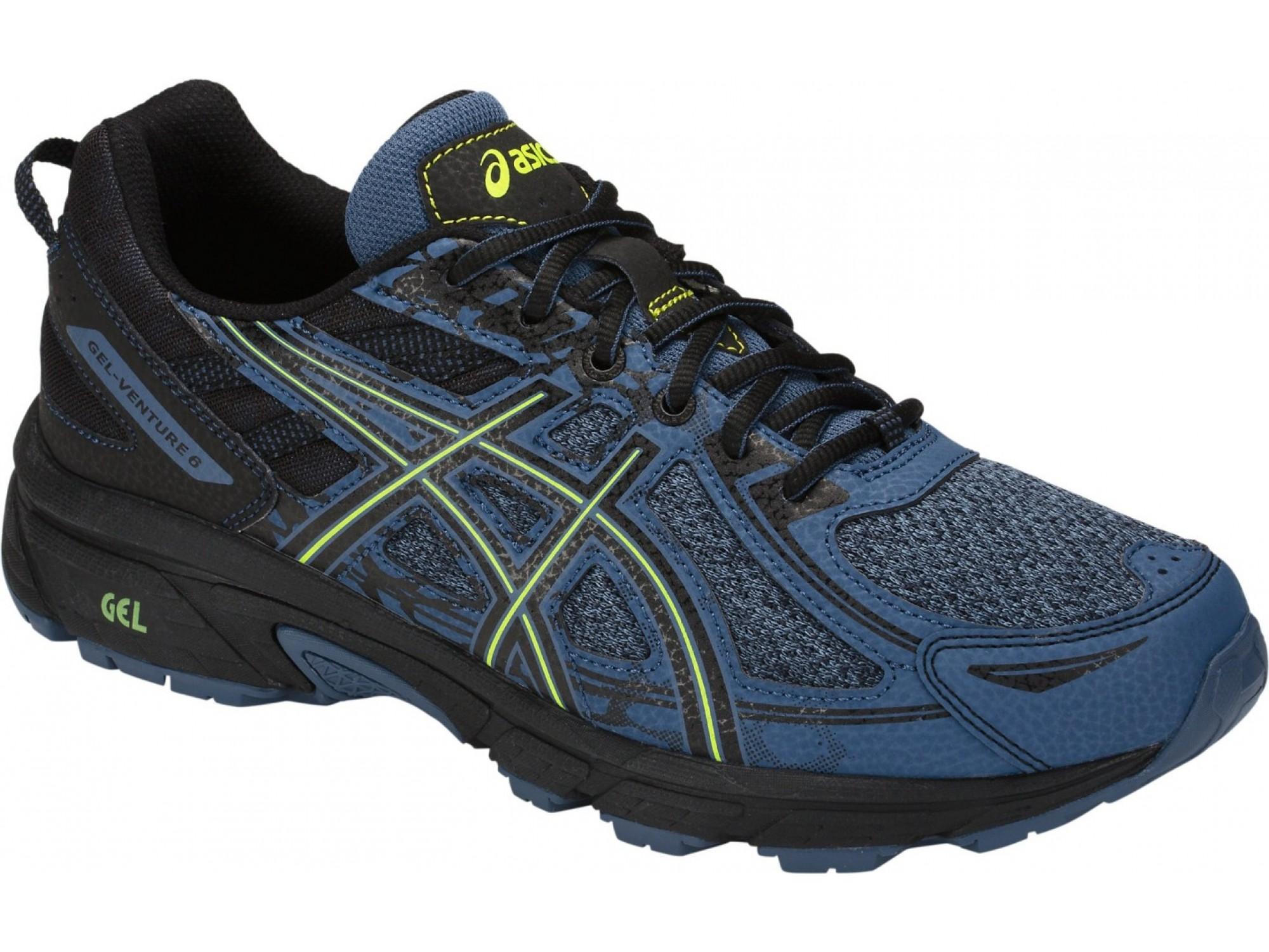 f2cebc2c ASICS Gel-Venture 6 MX Беговые кроссовки 1011A591-400 купить в ...