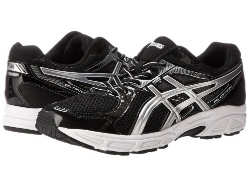 ASICS GEL-Contend 2 (Black/Platinum/White)