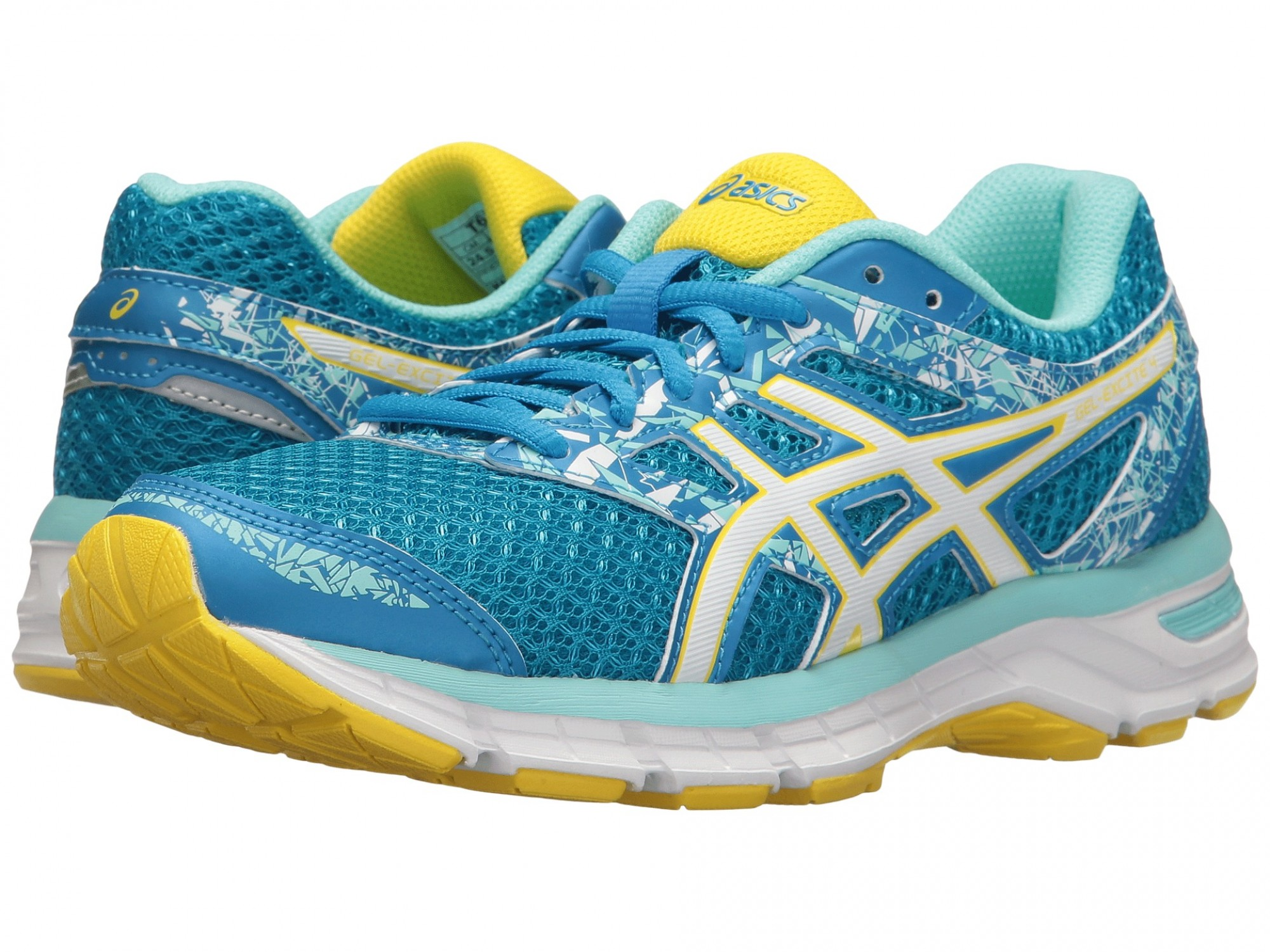 998aba2755d2 Женские ASICS GEL-Excite 4 (Diva Blue White Sun) T6E8N-4301 - купить ...