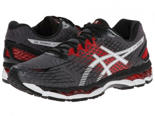 ASICS GEL-Nimbus 17 (Carbon/White/Black)