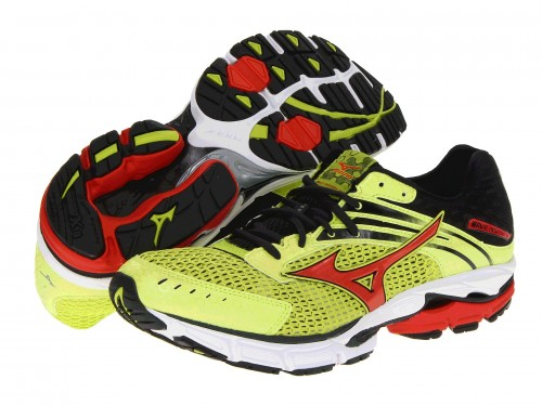 Mizuno Wave Inspire 9 (Lime Punch/ Orange/ Anthracite)