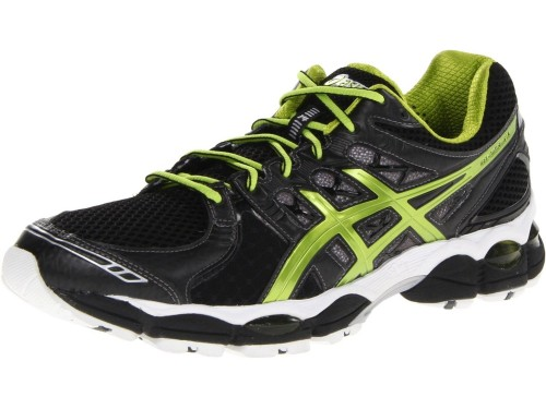 Asics GEL-Nimbus 14 (Black/ Lime/ Silver)