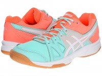 Женские Asics Gel-UpCourt (Mint White Fiery Coral) 2478e2f00c048