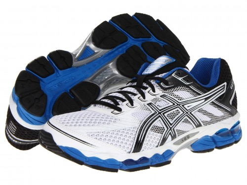ASICS GEL-Cumulus 15 (White/ Black/ Royal)